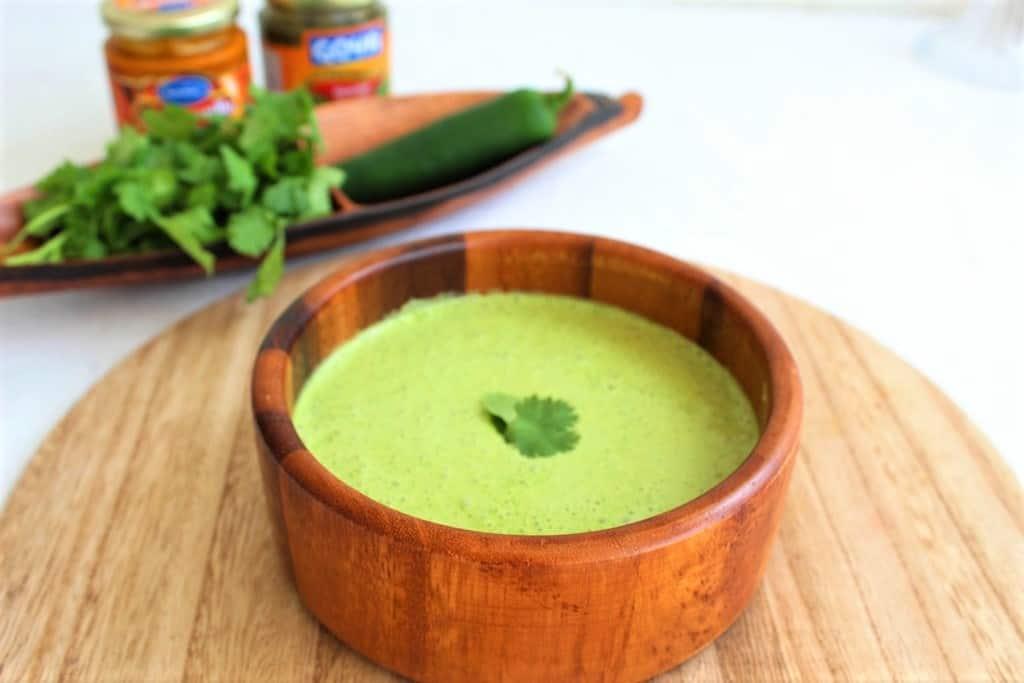 Spicy Green Sauce (Peruvian Salsa Verde with Huacatay) - Mediterranean Latin Love Affair